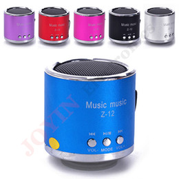 Wholesale Wholesaler Mp3mp4 - Wholesale- Hot Sale Fashion Mini Portable Multifunction Speakers Altavoz, Support FM Radio SD TF card U disk for  Iphone Samsung PC MP3MP4