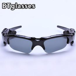 Wholesale Sunglasses Bluetooth Eyewear - Sports Stereo Cycling Eyewear Wireless Bluetooth 4.1 Headset Telephone Polarized Driving Sunglasses mp3 Riding Eyes Glasses