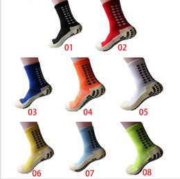 Wholesale Free Football Camps - ManTOP Quality Men Anti-Slip Football Socks Sport Socks Soccer Socks Free Shipping