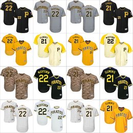 Wholesale Andrew Mccutchen Jersey - 2016 Flexbase Authentic Collection Men Pittsburgh Pirates 22 Andrew McCutchen 21 Roberto Clemente baseball jerseys Stitched S-4XL