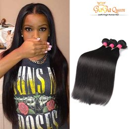 Wholesale Natural India Hair - Wholesale 4Bundles Peruvian Brazilian Malaysian India Straight Hair Cheap Hair Bundles 100g pcs Bundles Peruvian Straight Virgin Hair