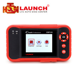 Wholesale launch x431 free update original - 2017 Original Launch CRP123 Update Online LAUNCH X431 Creader CRP123 ABS SRS Transmission and Engine obd2 Code Scanner DHL free