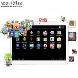 Wholesale Dual Sim Gps Flip - Wholesale- Tablet 9.6 inch 3G Octa Core Android 5 Tablet PC 4G RAM 32GB ROM Dual SIM 1280*800 IPS Bluetooth GPS Tablets 10.1 Flip Case Free