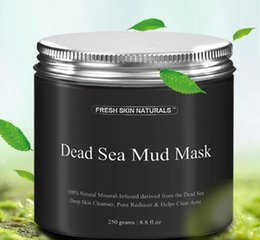 Wholesale Facial Beauty Treatment - Best Deal New Fashion 250g Women Mask Mud Pure Body Naturals Mineral Beauty Dead Sea Mud Mask for Facial Treatment