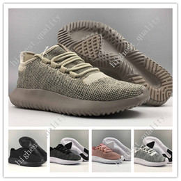 Wholesale Mens Boots For Sale Cheap - Free Shipping Cheap Hot Sale Tubular Shadow 350 3D Running Shoes for Mens sneakers Women Knit Core Black White Cardboard Sneakers 350 Boots