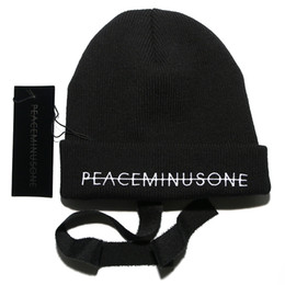 Wholesale Halloween Streets - Fashion Men Women HotGdragon peaceminusone Hat Beanie Outdoor Boonie Cap Unisex Summer Beach Hat Free Shipping