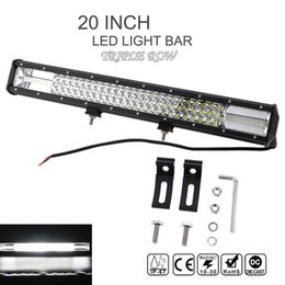 Wholesale Bar Worklight - 7D 20 Inch 540W Car LED Curved Worklight Bar Triple Row Spot Flood Combo Offroad Light Driving Lamp for Truck SUV ATV CLT_42N