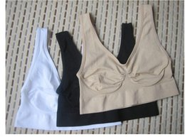 Wholesale Body Wires - High Quality Seamless Bra Microfiber Pullover Bra Body Shape Sport Bra