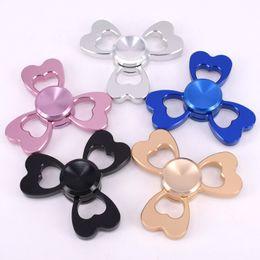 Wholesale Oem Toys - butterfly Fidget Spinner Colorful EDC Gyro Toys Hand Spinner Fidget Zinc alloy Fidget HandSpinner Adults Finger Spinning OEM Acce