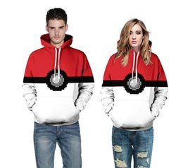 Wholesale Cashmere Hoodies For Women - Couples Hoodies New Sweatshirt Fashion Clothes with Hat Poke 3D Casual Hoodies Elf Ball 3D Printing for Men Women Clothing Wholesale