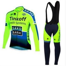 Wholesale Monton Cycling Bib - 2015 New Saxo Thinkoff Fluorescence Cycling Jerseys Hot Brand New Jersey Bicycl Clothing & (Bib) Shorts Monton Clothing Size 2XS To 6XL