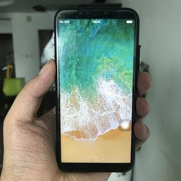 Wholesale Smartphone Metal Body - 5.8 inch Goophone X 3G WCDMA 1GB 16GB+32GB Quad Core MTK6580 i8 Plus Android 6.0 18:9 1280*720 HD GPS WiFi Metal Body Dual Glass Smartphone