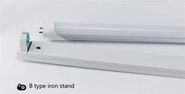 Deutschland Freies verschiffen 1,2 mt T8 Fixture 5FT LED rohr licht Stehen hochwertigen unterstützung halterung stent lampe halter G13 Lampensockel Versorgung
