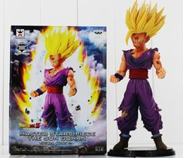 Wholesale Wholesale Collectable Dolls - Hot Gohan Figura Dragon Ball Z Master Stars Piece MSP The Son Gohan PVC Action Figure Toy Collectable Model Doll