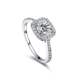 2019 оптовые кольца стерлингового серебра Прелести кольцо великолепный австрийский горный хрусталь кольца позолоченные для подарков высокое качество матери свадебные ювелирные изделия