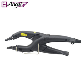 Wholesale Hair Bond Tool - LOOF Wholesale JR-668 Professional Keratin Fusion Iron for Hair Extensions connectors Iron Melting Beauty Salon Tools for Pre Bonded Hair