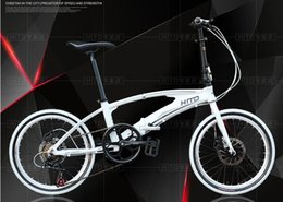 Wholesale Bike Aluminum Frame - 20 inch folding bicycle Foldable pedal aluminum alloy frame disc brake 7 speed MTB 140-185cm rider HITO X6 bike adult bicycle road bike