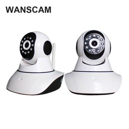 Wholesale Cut Monitor - Wanscam 720P Network Wireless CCTV P2P WIFI IP Camera HD Security Surveillance Camera Infrared Baby Monitor IR-Cut Night Vision HW0041