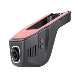 Wholesale Hidden Video Records - Car DVR Camera Video Recorder Universal Hidden DVRs Dashcam Novatek 96658 Wireless WiFi APP Manipulation Full HD 1080p Dash Cam