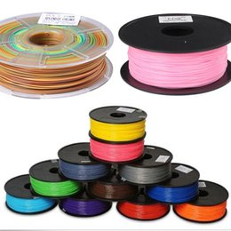 Wholesale Abs 1kg - MakerBot RepRap UP Mendel 12 colors Optional 3d printer filament ABS 1.75mm 3mm 1kg plastic Rubber Consumables Material