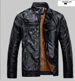 Wholesale Haining Fur - High Quality New Style Brand Luxury Fashion Men's Leather Jacket 3XL Business Casual Haining Leather Jacket Men Coats Jaquetas