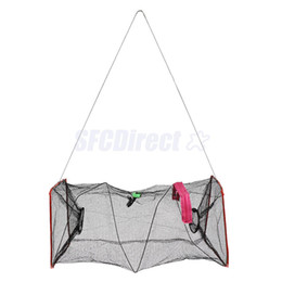 Wholesale Fishing Tackle Gear - Foldable Fishing Trap Cast Net Crab Prawn Shrimp Lobster Fish Minnow Fishing Tackle hot sell best quality