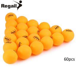 Wholesale Orange Tennis Balls - 60 Pcs 3-Star Table Tennis 30 Pcs 3-Star 40mm Table Tennis Balls Ping pong Ball White Orange Pingpong Ball Amateur Advanced Training +B