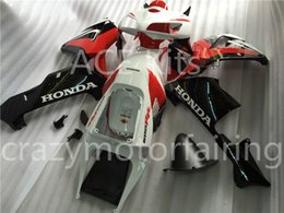 Wholesale Ace Kits - 3 Free gifts New Injection Fairing Kits 100% Fitment For HONDA CBR600RR F5 2005 2006 05 06 600RR Bodywork set white and black red Ace.1