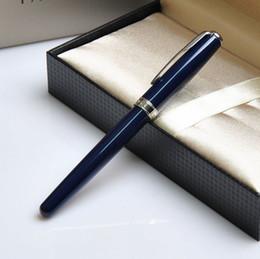 Wholesale Silver Parker Pens - Free Shipping fountain pen parker Sonnet pens office supplies school parker original metal parker blue silver