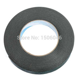 Wholesale Double Sided Body Tape - Wholesale- 2016 New Professional Useful Black Super Strong Permanent Double Sided Self Adhesive Foam Car Trim Body Tape Free Shipping