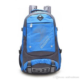 Wholesale Nice Bag Brands - Nice New Fashion Brand Design Unisex Soft Handle Daily Life Sport Double-Shoulder Travel Backpack School Bags For Teenagers