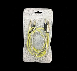 Wholesale Cell Phones Accessories For Sale - 18.5*10cm Zipper Plastic Retail package bags for Cell phone Accessories Earphones stereo earphones Packing bag factory sales