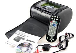 Wholesale Dvd Car Headrest Inch - 7'' Car DVD Headrest Monitor Car Pillow Headrest Support USB SD DVD Player IR FM Player