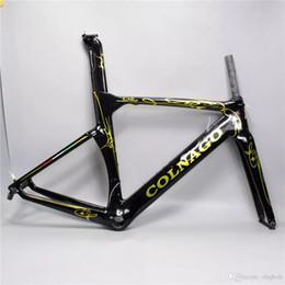 Wholesale Bike Frame 54 - 2017 colnago concept road bike carbon frame full carbon fiber road bike frame 48 50 52 54 56cm T1000 carbon frameset C04