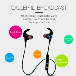 Wholesale Iphone Earphone Usb - S10 Bluetooth Earphones Ear Hook Wireless Headphones Sport Headset Iphone Bluetooth Earbuds Xiaomi Earphone Music Play Bluetooth Call