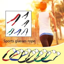 Wholesale Sport Eyeglasses String - Glasses Accessories Super Soft Elastic Glasses Lanyard Chain Slip-resistant Outdoor Sports Eyeglasses String Band Holder