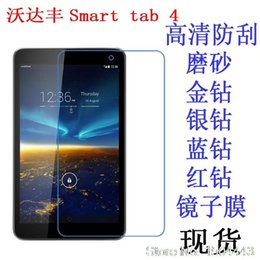 Wholesale 8inch Tablet Covers - Wholesale- High Clear Screen Film LCD HD Screen Protector Cover For Vodafone Smart TAB 4 P323x matrix 8inch Tablet