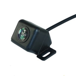 Wholesale cities auto - Auto Parking Assistance HD Mini Car Rear View Camera Car Reverse Backup Rear Camera with Reversing Trigger Line 12V