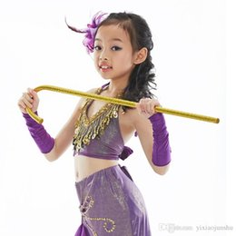 Wholesale Red Silver Dance Jazz - 2017 New Adults Children Jazz Dance Crutches Belly Dance Walking Stick Cane Performances Props Free Shipping
