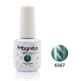 Wholesale Magnetic Nail Polish Kit - primer 12pcs new brand magnetic cat eye gel nail polish high quality gel primer kit(10colors +1 base coat +1top coat)