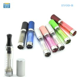 Wholesale Ego B - Wholesale- Evod-b Electronic cigarette Atomizer 2.4ml 1.8-2.8 ohm e-liquid rebuildable coil evod-b atomizer fit evod ego evod twist battery