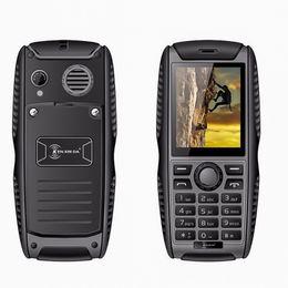 Wholesale Tri Sim Mobile Phones - Original Ken Xin Da Proofings W3 Mobile Phone IP68 Waterproof Shockproof Smartphone 2G Dual SIM 2000mAh Battery Cellphone Cheapst phone