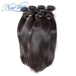 Wholesale Unprocessed Brazilian Hair 1kg - Wholesale-1kg New star mink brazilian virgin human hair extension silk straight style 100% unprocessed natural colors full wholesale price
