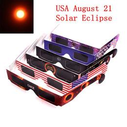 2019 voir des lunettes 2017 Lunettes de soleil en verre solaire pour lunettes solaires Eclipse Protégez vos yeux lorsque 21 août DHL Livraison rapide gratuite promotion voir des lunettes