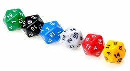 Wholesale Gaming Set - DHL Newest toys 7 PCS   Set Resin Polyhedral TRPG Games For Dungeons Dragons Opaque D4-D20 Multi Sides Dice Pop for Game Gaming