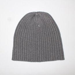 Wholesale Hat Free Knitting Pattern - brand Beanie cap designer style men's women's winter autumn hat men's knitted hats A pattern