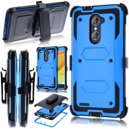 Wholesale Black Rebel - Armor Case For LG K4 2017 Risio 2 Rebel 2 LTE For LG V20 Hybrid Heavy Holster Shockproof with Belt clip C