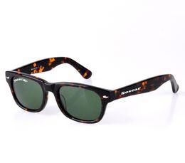 Wholesale Drop Sunglasses - Soscar 2132 Brand Designer Sunglasses Fashion Men Women Sun Glasses Metal Hinge 52mm 55mm Black Frame G15 Lenses Drop Shipping