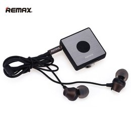 Wholesale Unique Ear Wires - Brand New REMAX RB-S3 Clip Bluetooth V4.1 + EDR Headset Unique for wired earphone and wired speaker