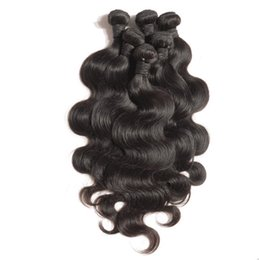 """Wholesale 12 16 Indian Wave - 4pcs lot Sexy Body Wave Virgin Indian Hair Unprocessed Indian Virgin Hair Weave Very Soft 12""""-30"""" Mixed Length Free Shipping"""